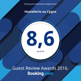8,6/10 sur Booking.com